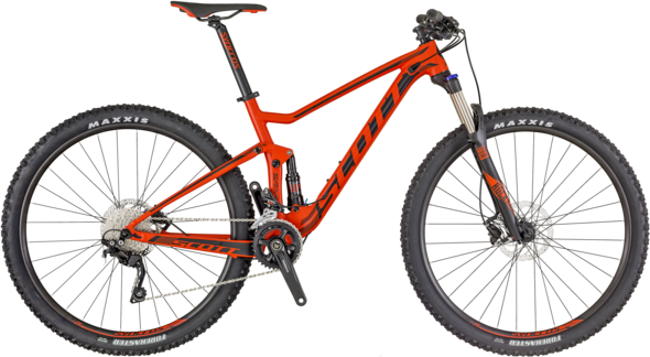 Scott Spark 970 Color: Red/Black