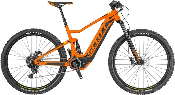 Scott Spark eRide 930 Color: Orange/Black
