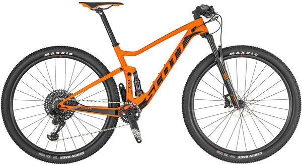 Scott Spark RC 900 Team Color: Orange/Black