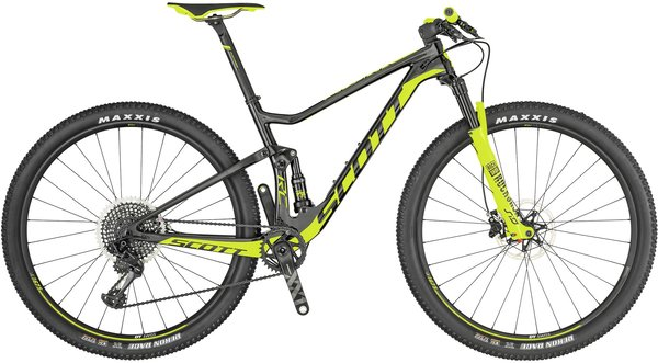 Scott Spark RC 900 World Cup Color: Black/Yellow