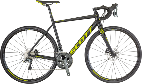 Scott Speedster 20 Disc Color: Black/Neon Green