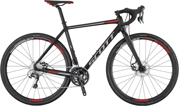 Scott Speedster CX 20 Disc Color: Black/Gray/Orange