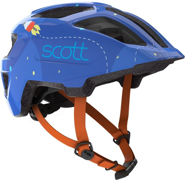 Scott Spunto Kid (CPSC) Helmet Color: Blue/Orange