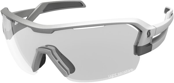 Scott Spur LS Sunglasses Color | Lens: Vogue Silver | Grey Light Sensitive|Clear|Red Chrome