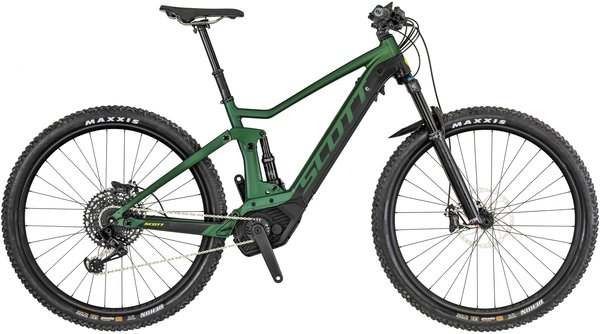 Scott Strike eRide 910 Color: Green/Black