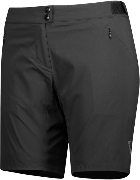 Scott Endurance Loose Fit Women's Shorts w/Pad Color: Black