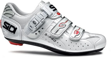 Sidi Women's Genius 5 Pro Carbon Shoes Color: White Vernice