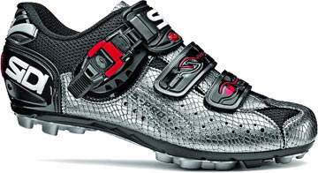 Sidi Women's Dominator 5 Color: Silver Mamba