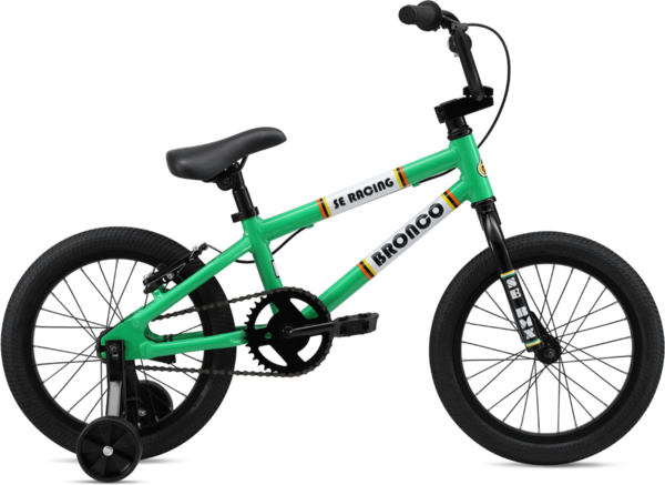 SE Bikes Bronco 16 Color: Green
