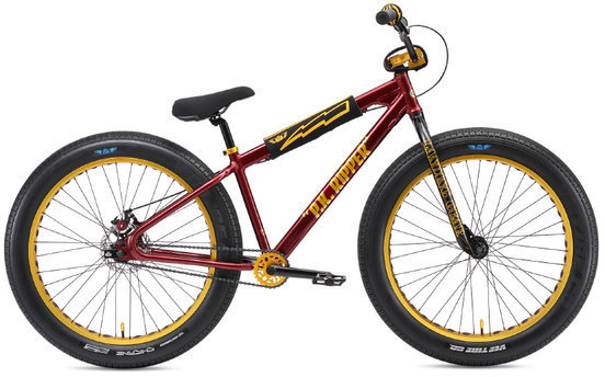 SE Bikes Fat Ripper 26 Color: Maroon Sparkle