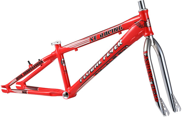SE Bikes Floval Flyer 24 Frame Color: Red