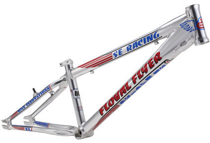 SE Bikes Floval Flyer XL 24 Frame Color: Hi-Polish Silver