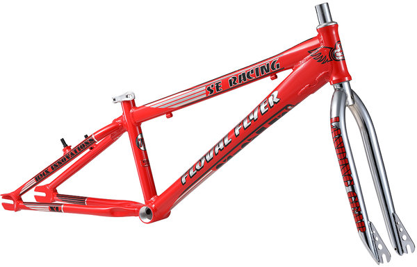 SE Bikes Floval Flyer XL 24 Frame Color: Red