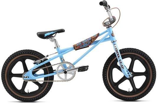 SE Bikes Lil Quad 16 Color: SE Blue