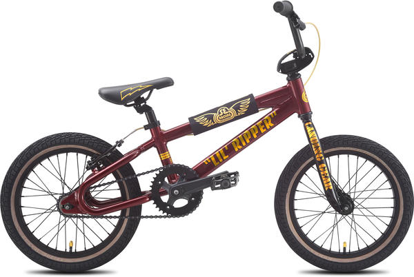 SE Bikes Lil Ripper 16 Color: Metallic red