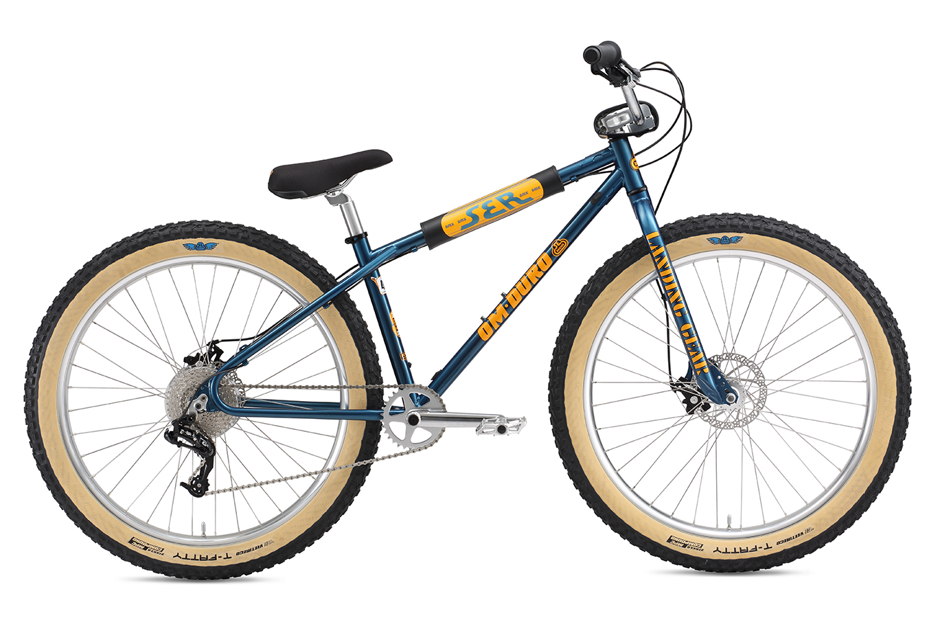 SE Bikes OM-Duro 27.5+ Color: Blue Sparkle