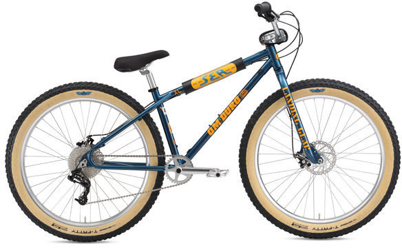 SE Bikes OM-Duro XL 27.5+ Color: Blue Sparkle