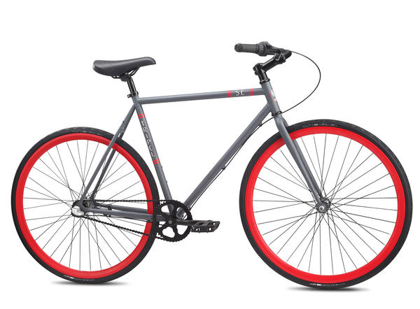 SE Bikes Tripel Color: Matte Gray