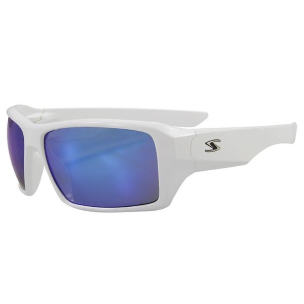 Serfas Auger Color | Lens: Gloss White | Blue Multi-Coat