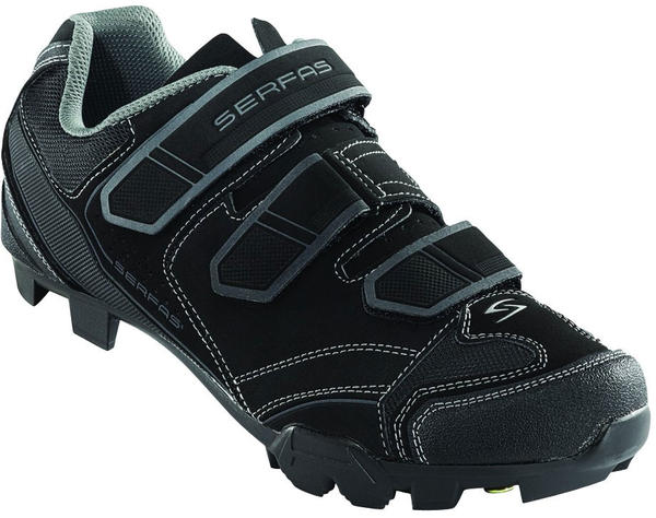 Serfas Cadmium MTB Shoes Color: Black/Titanium