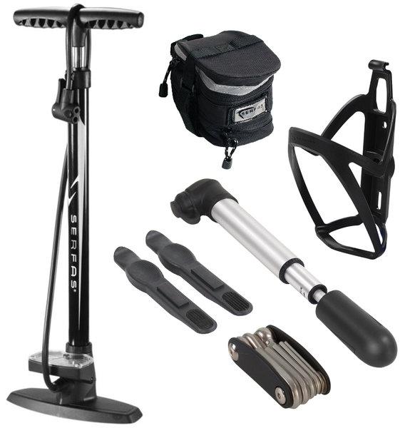 Serfas Combo Kit with Floor & Mini Pump