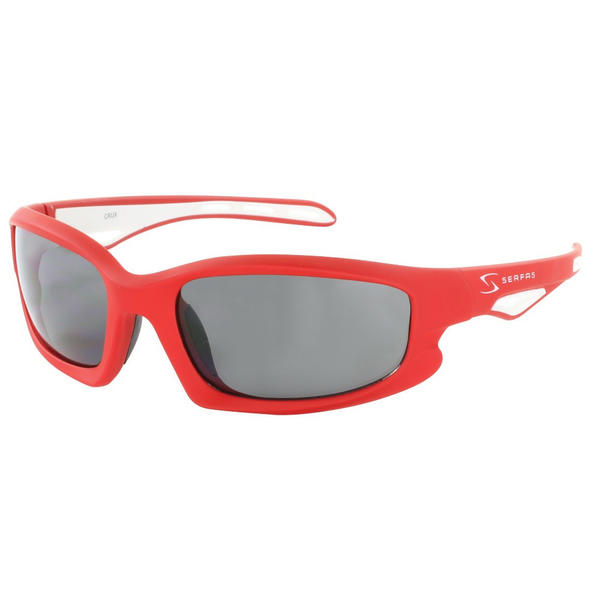 Serfas Crux Color | Lens: Red/White | Gray