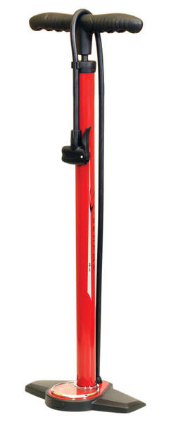 Serfas FP-45 Floor Pump Color: Red