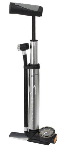 Serfas Mini Floor Pump w/Gauge