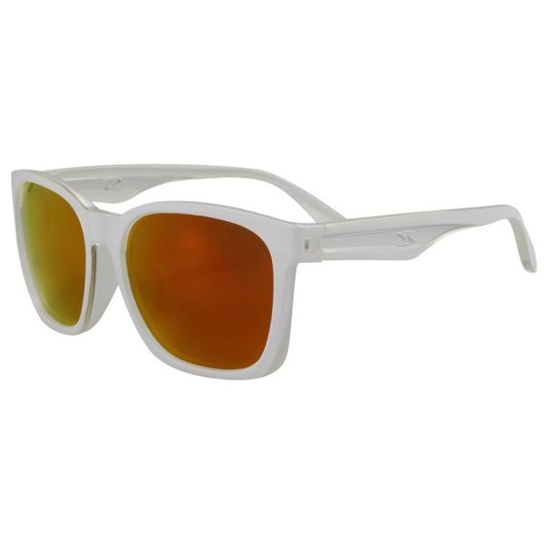 Serfas Decorah Color | Lens: Matte White | Polarized Red