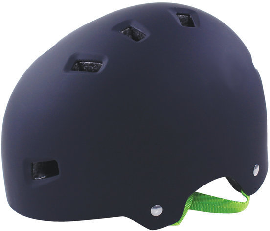 Serfas HT-100/103 Bucket Kids Helmet Color: Matte Black/Green
