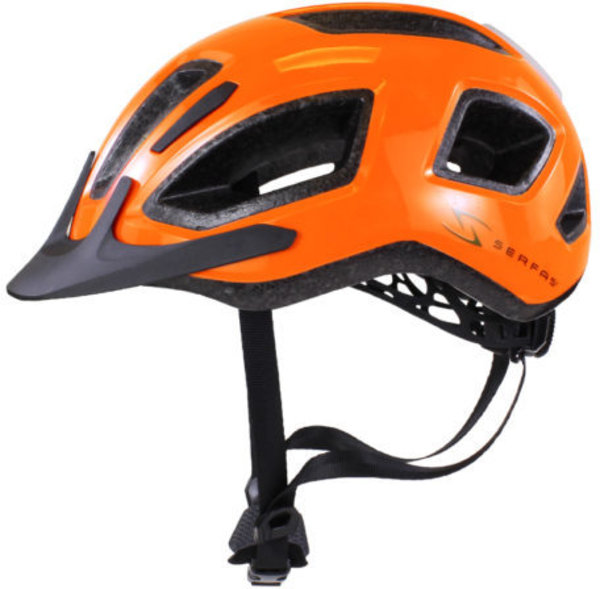 Serfas HT-400/404 Metro Helmet Color: Gloass Serfas Orange