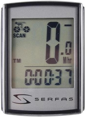 Serfas Level 4+ Backlit Wireless Speed