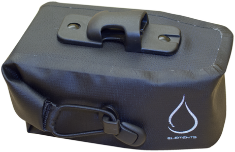 Serfas Monsoon Waterproof Roll Top Seatbag Color: Black