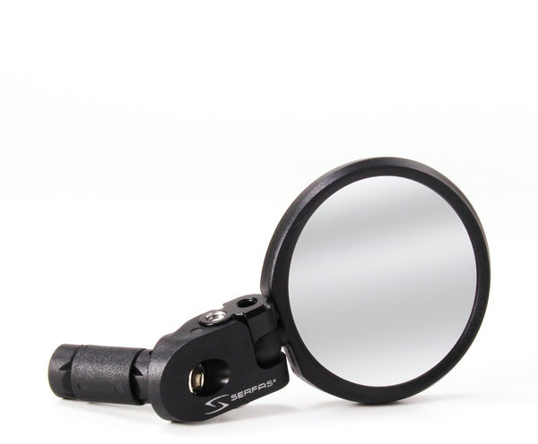 Serfas MR-3 Glass Lens Mirror Color: Black