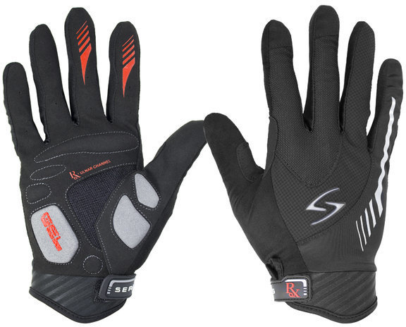 Serfas RLM RX Men's Long Finger Glove Color: Black