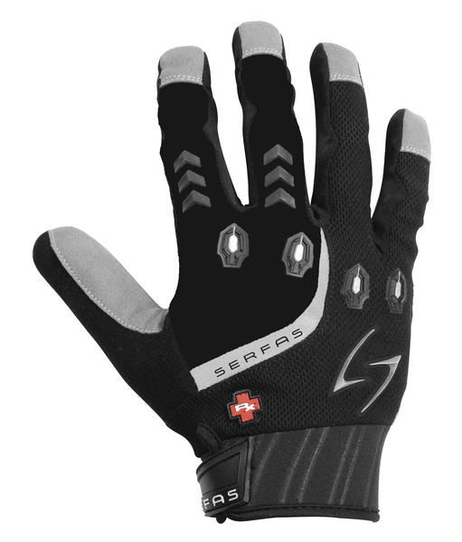 Serfas RX Full Finger Gloves Color: Black