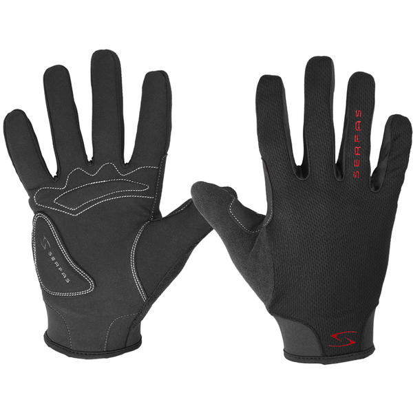 Serfas SLM Starter Men's Long Finger Gloves Color: Black