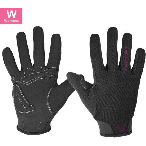 Serfas SLW Starter Women's Long Finger Gloves Color: Black