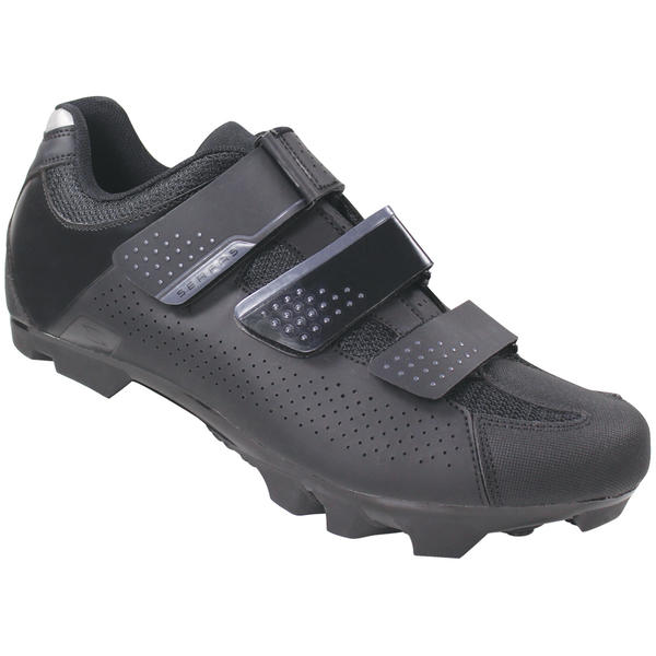 Serfas SMM-401B Men's Mountain Singletrack 3-Strap Color: Black