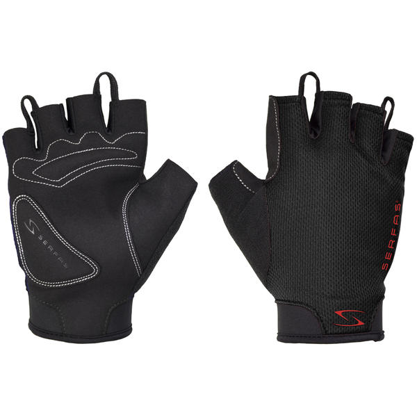 Serfas SSM Starter Men's Short Finger Gloves Color: Black