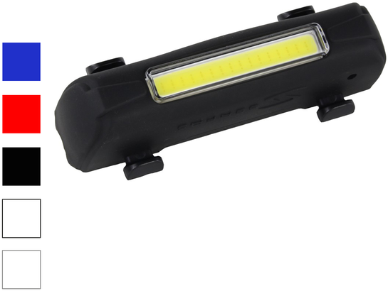 Serfas USLA-7 Thunder Blast Headlight Color: Black