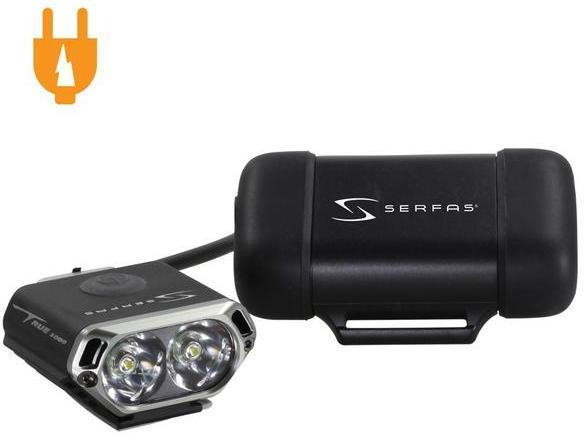 Serfas True 1000 Mini Headlight w/Compact Battery