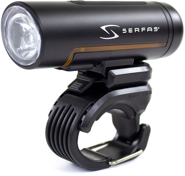 Serfas True 1000 Road Headlight Color: Black