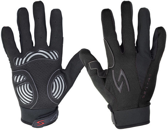 Serfas ZLM Zen Men's Long Finger Gloves Color: Black