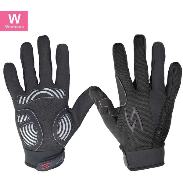 Serfas ZLW Zen Women's Long Finger Gloves Color: Black