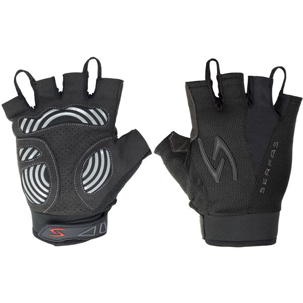 Serfas ZSM Zen Men's Short Finger Gloves Color: Black