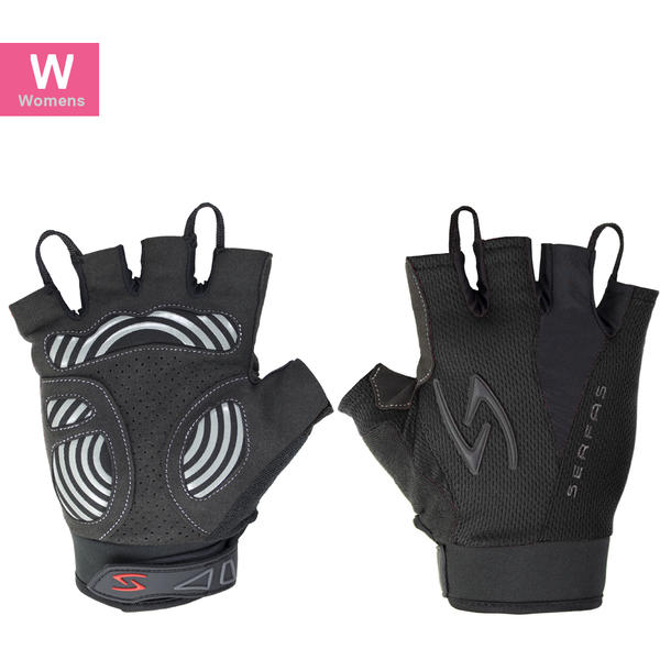Serfas ZSW Zen Women's Short Finger Gloves Color: Black