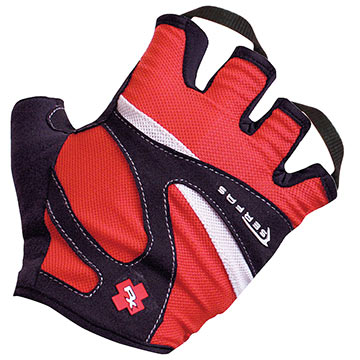 Serfas RX Gloves Color: Red/Black