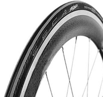 Serfas Seca 700x25 Road Bicycle Tire-Black//Grey-Wire Bead-Flat Protection-New