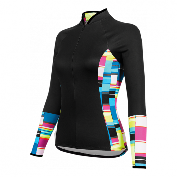 Shebeest Bellissima Baja Long Sleeve Jersey Color: Black